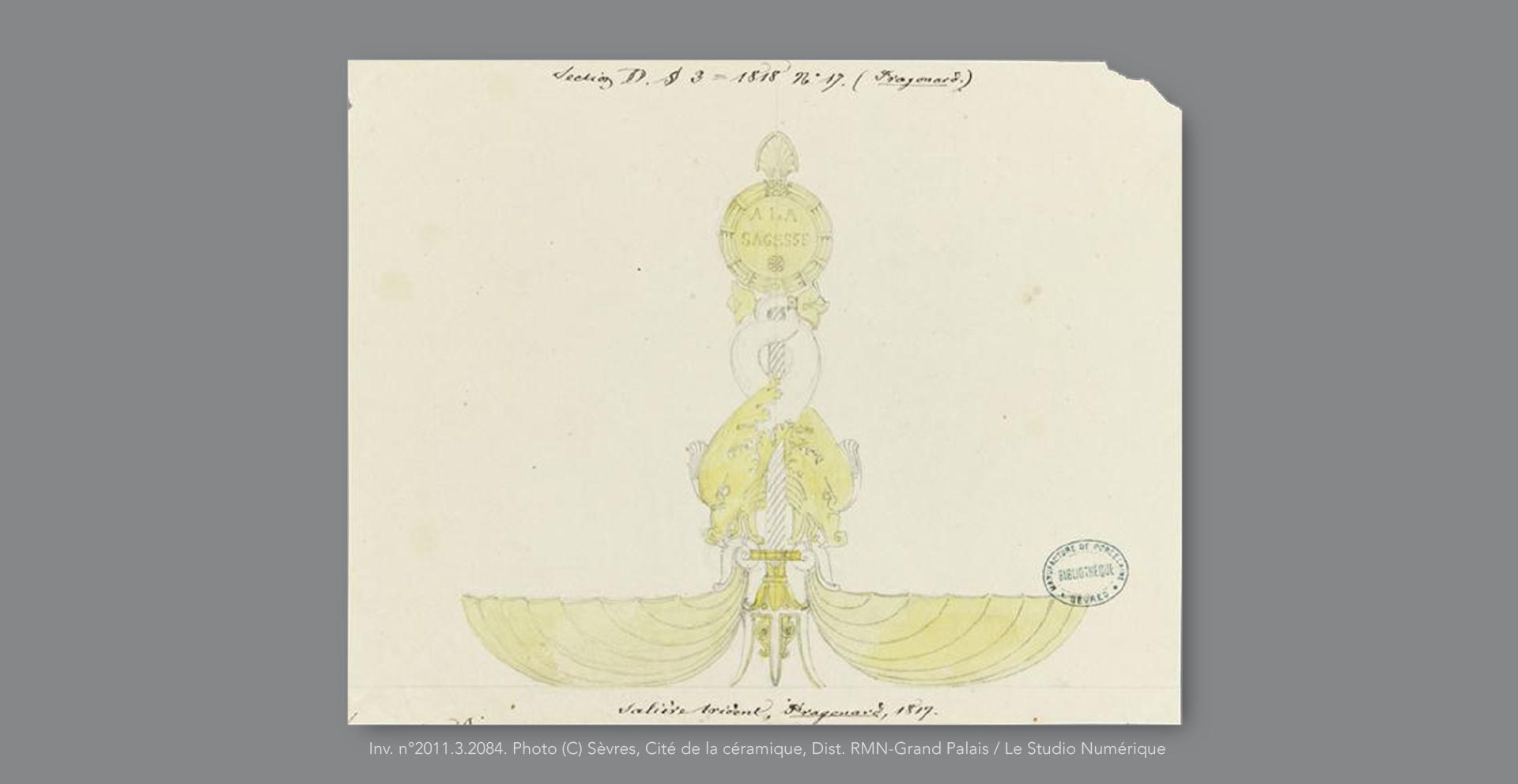 Saliere-Trident-Fragonard-1817-